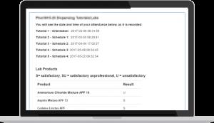 Web portal example